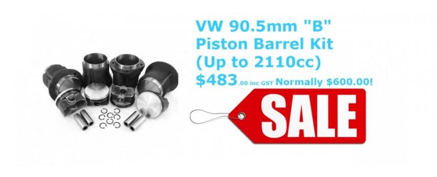 Piston and Barrel Kit 1776cc
