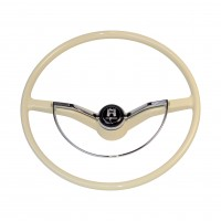VW Beetle Karmann Ghia and Type 3 Steering Wheel in Ivory