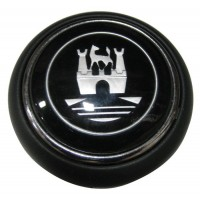 Wolfsburg Crest Horn Push VW Beetle 1956 to 1959 and Kombi 1955 to 1967