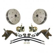 Dropped spindle Disc Brake Conversion Kit for Link Pin VW Beetle and VW Karmann Ghia
