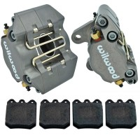 Wilwood Stock Replacement Front Brake Callipers with Pads Disc Brake VW Beetle, Karmann Ghia, Type 3's (Pair)