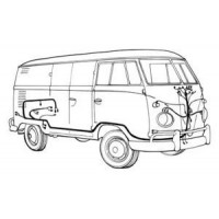 Wiring Loom for VW Kombi  1958 to 1963