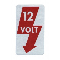 """12 Volt"" Sticker"