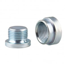 O2 Sensor Bung and Plug, Mild Steel (18 x 1.5mm Threads)