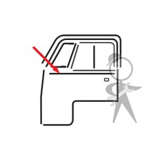 Cab Door Frame To Base Seal - Top Quality - VW Kombi  1950 to 1967