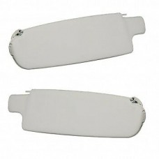 Sun visor Pair VW Kombi 1968 to 1979 Ivory