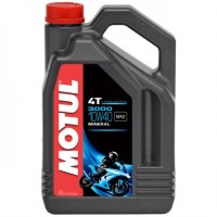 Motul 3000 Plus 4T 10w 40 Mineral Oil 4 Ltr (Fresh Rebuilt Engine Oil Recommendation from TMN)