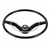 VW Beetle Karmann Ghia and Type 3 Steering Wheel in Black
