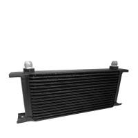 Oil Cooler 16 Row 8AN AN-8 Fittings -Black