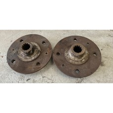 Pre loved Type 3 Rear Hub Flanges (Pair)