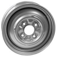 VW Silver Steel Wheel 5.5J x 15'' with 4 X 130 Stud Pattern (Smooth)