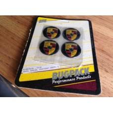 BugPack Porsche Stuttgart Crest Emblem Set of 4