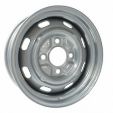 Silver Steel Wheel 5.5J x 15'' with 4 X 130 Stud Pattern