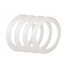 """Whitewall Tyre Trims 15"""" (Set of 4)  3""""  for VW Kombi 1956 to 1964 and Beetle 1946 to 1979"""