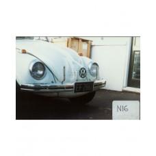 VW Beetle Bonnet Stone Guard Non-Wrap - Clear