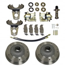 Front Disc Brake Conversion Kit for Link Pin VW Beetle's and Karmann Ghia's