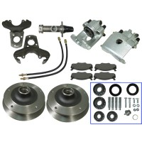 Front Disc Brake Kit 5 X 205 For Link Pin Beetle's and Karman Ghia's