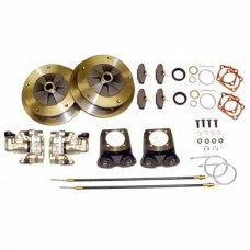 Rear Disc brake kit for swing axle VW Beetle (And will fit Kombi's with straight axle conversions) cast calliper brackets.