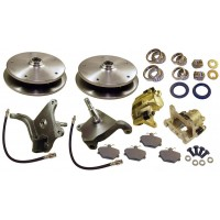 Dropped spindle Disc Brake Conversion Kit for Link Pin VW Beetle and VW Karmann Ghia