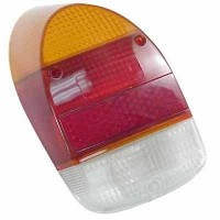 Rear tail lamp Lens VW Beetle 1968 to 1972