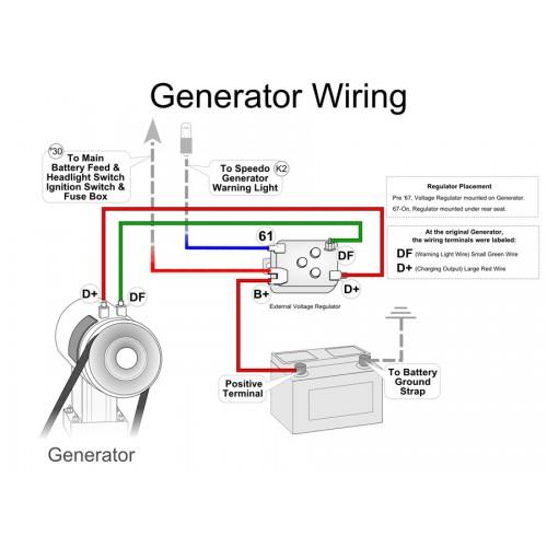 Bosch 12 Volt Generator For Vw Beetle U0026 39 S And Kombi U0026 39 S