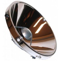 Head light reflector each VW Beetle or Kombi 1968 and on, Type 3 1962 and on