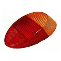 Tail Lamp Lens VW Beetle 1961 to 1967 (and Standard 1200 Beetles up to 1973)