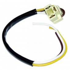 Head Lamp 3-Prong Pigtail with Connector and Wiring VW Beetle Kombi and T25