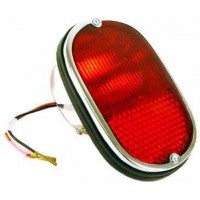 Tail Light Assembly for VW Kombi in US Spec All Red with Single bulb