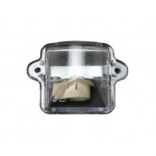 Number Plate Light Lens And Bulb Holder Fits VW Beetle 1964 to 1979 and Type 3 fastback and Notch