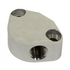 Fuel Pump block off with vent port