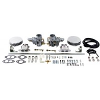 EMPI Dual EPC 34 carburettor Kit, VW Type 3 Dual Port with air cleaners