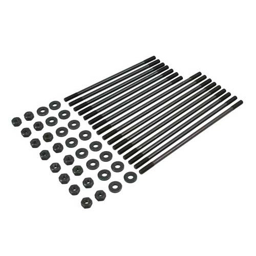 Chromoly cylinder head studs for VW dual port engines with 8mm studs