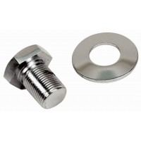 VW Crank Pulley Extra Long Chrome