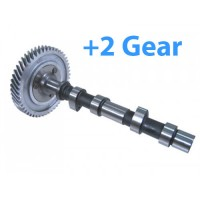 VW Stock grind camshaft with gear (+2) New not rebuilt