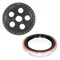 Crank Pulley EMPI Hi-Performance Stock Diameter Sand Seal Degree Engraved