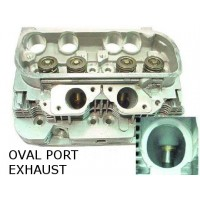 "New VW Type 4 Cylinder Head with ""Oval Port"", 1975 to 1978 Type 4 VW Engine"