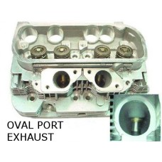 """New VW Type 4 Cylinder Head with """"Oval Port"""", 1975 to 1978 Type 4 VW Engine"""
