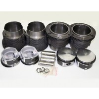 Piston Barrel Kit 96mm VW Type 4 for 66mm Crank (1700 and 1800 Engines)