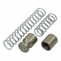 VW Oil Pressure Relief Valve and Spring Kit, Dual Relief