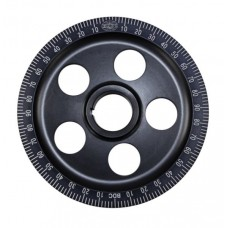 VW Crank Pulley - Black Anodised