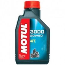 Motul 3000 Plus 4T 20w 50 Mineral Oil 1 Ltr