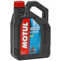 Motul 3000 Plus 4T 20w 50 Mineral Oil 4 Ltr