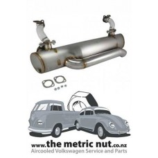 Vintage Speed Exhaust VW Kombi 1968 and on with heat risers