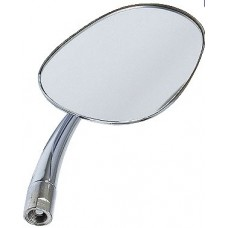 Right Side View Mirror, 1949 to 1967 Beetle, Oval or Pear Shape