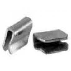 Clips for Number plate trim Ends, VW Karmann Ghia 1956 to 1974