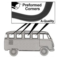 Side Window Seal VW Kombi 1950 to 1967 (Fixed Glass)