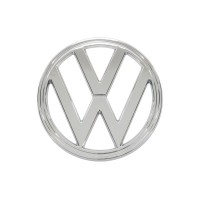 """VW"" Kombi Nose badge 1973 to 1979 (Chrome)"
