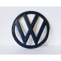 """""""VW"""" Kombi Nose badge 1973 to 1979 Black"""