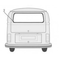 VW Kombi Rear Window Seal 1964 to 1979 Made in Germany